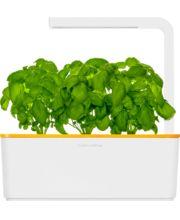 Click and Grow chytrý květináč pro pěstování bylinek oranžový kryt
