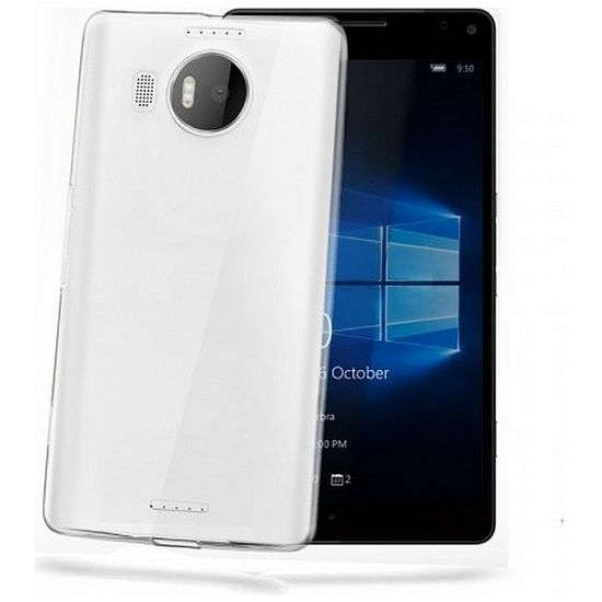 CELLY Gelskin TPU pouzdro Lumia 950, bezbarvé