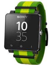 Sony SmartWatch SW2, limitovaná edice FIFA2014 Brazil, černá zelená