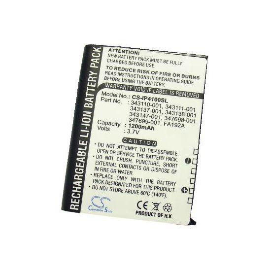 Baterie pro HP iPAQ 4100, 4150, Li-ion 3,7V 1200mAh