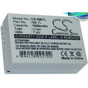 Baterie (ekv. NB-7L) pro Canon G10,G11,G12, Li-ion 7,4V 1050mAh