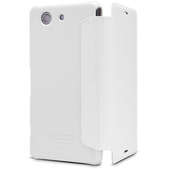 Nillkin pouzdro Sparkle Folio pro Sony D5803 Xperia Z3compact, bílé