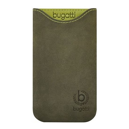Bugatti Skinny leather case Samsung Galaxy Note 7000 - zelené