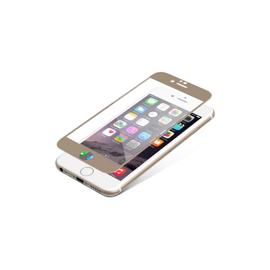 invisibleSHIELD Glass Luxe pro Apple iPhone 6 / 6S - zlaté