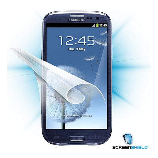 Fólie ScreenShield Samsung Galaxy S III i9300 - displej