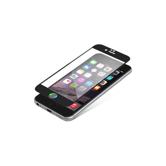 invisibleSHIELD Glass Luxe pro Apple iPhone 6 / 6S -černé