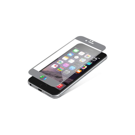 invisibleSHIELD Glass Luxe pro Apple iPhone 6 / 6S - titanové