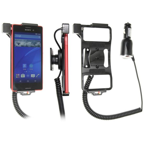 Brodit držák do auta na Sony Xperia M4 Aqua bez pouzdra, s nabíjením z cig. zapalovače