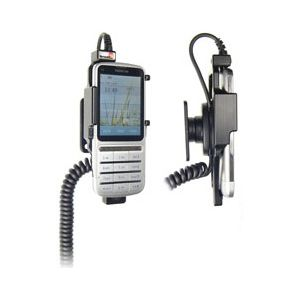 Brodit držák do auta na Nokia C3-01 bez pouzdra, s nabíjením z cig. zapalovače