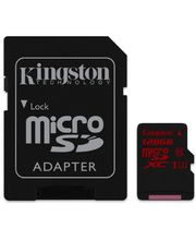 Kingston microSDHC 128GB Class 10/UHS-I U3, zápis 80MB/s + SD adaptér