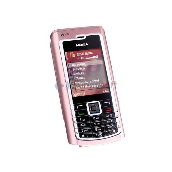 Nokia N72 - růžová