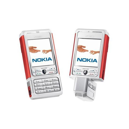 Nokia 3250 XpressMusic - White-Red 1GB