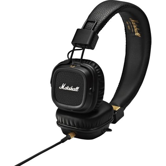 Marshall Major II Stereo Headset černé