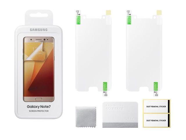 obsah balení Samsung ochranná fólie ET-FN930CT pro Note 7