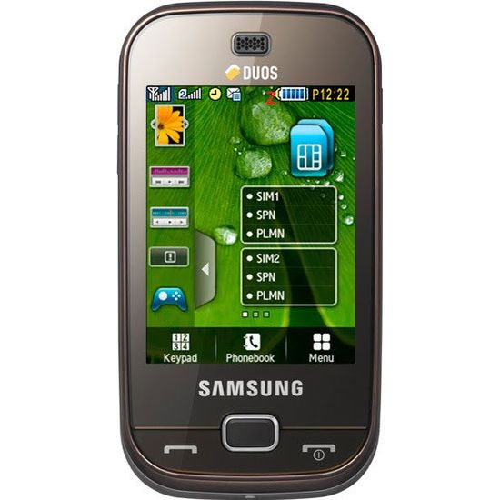 Samsung B5722 Dark Brown