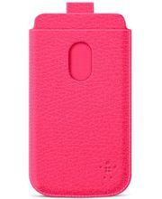 Belkin Pocket Case zasouvací pouzdro pro Samsung Galaxy S III PU kůže, růžové (F8M410cwC04)