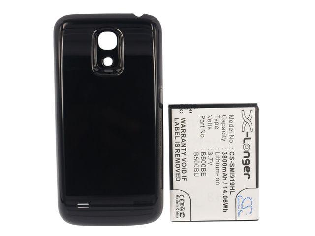 obsah balení Baterie rozšířená pro Samsung Galaxy S4 mini, 3800mAh, Li-ion + univerzální nabíječka bateriíí