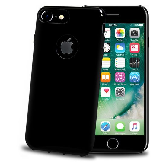 Celly TPU kryt Gelskin pro Apple iPhone 8 Plus / 7 Plus Black Edition