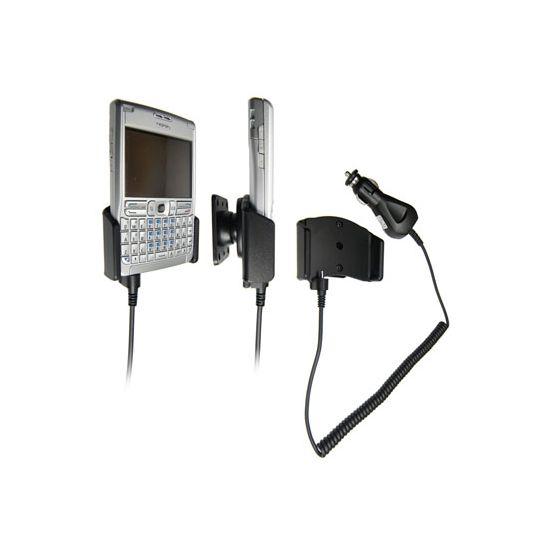 Brodit držák do auta pro Nokia E61 s nabíjením
