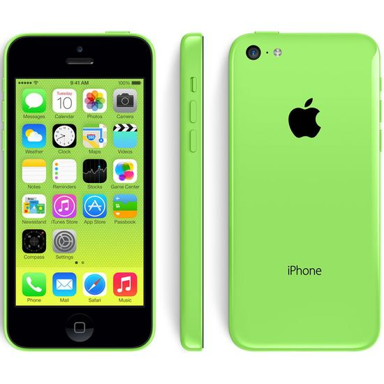 Apple iPhone 5C 32GB, zelená