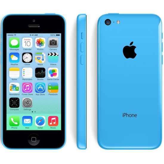 Apple iPhone 5C 32GB, modrá