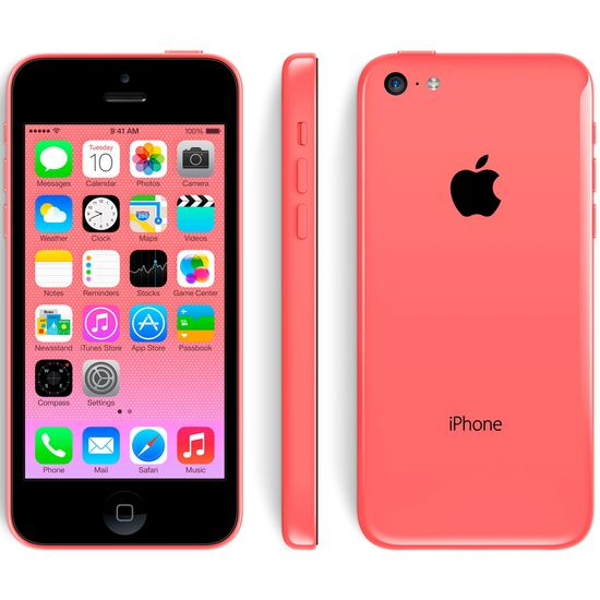 Apple iPhone 5C 16GB, růžová