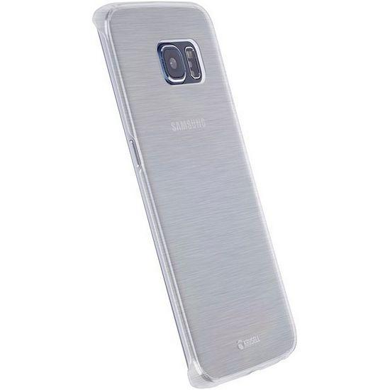 Krusell zadní kryt BODEN pro Samsung Galaxy S7 edge, bílé transparentní