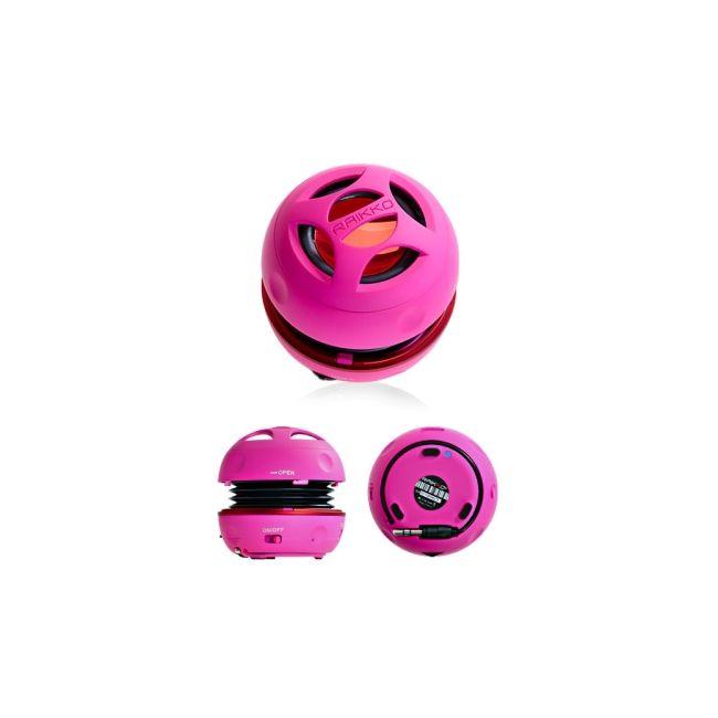 Raikko reproduktor Dance, růžový