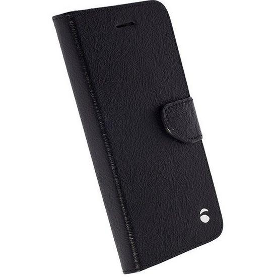 Krusell flipové pouzdro BORAS FolioWallet pro Samsung Galaxy S7 edge, černý