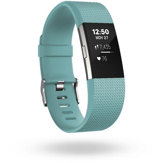 Fitbit Charge 2 velikost S, světle modrá