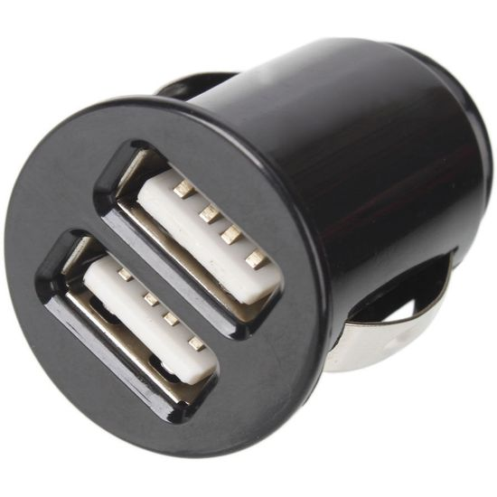 Adaptér do autozapalovače 2x USB 1A a 2,1A