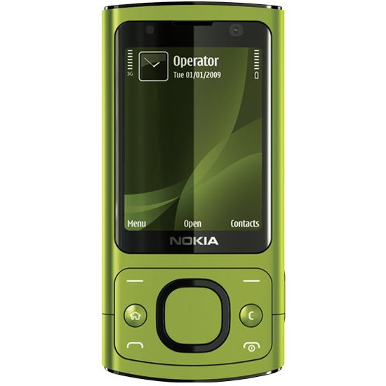 Nokia 6700 slide Lime (2GB)