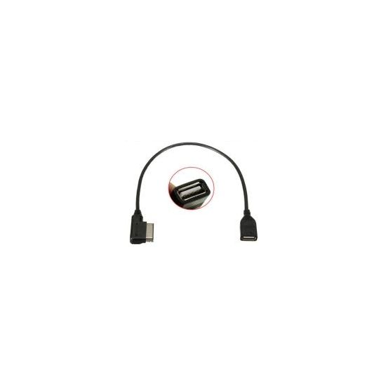 AMI MMI, USB samice Audio Music adapter kabel