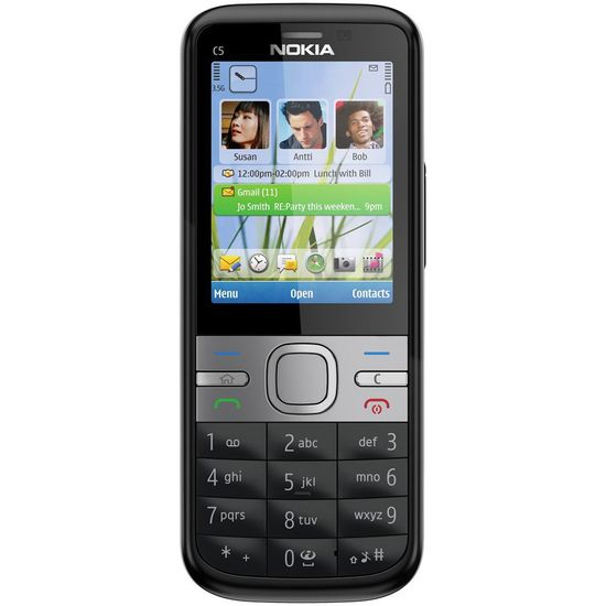 Nokia C5-00.2 5MP All Black