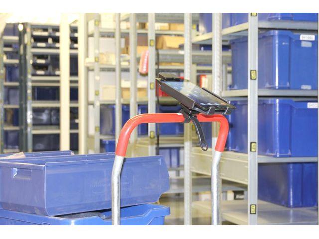 obsah balení Brodit držák na kolo nebo motorku, objímka se stahovacím páskem + MultiMove clip pro odnímání držáku