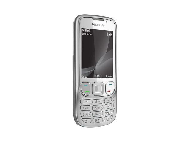 obsah balení NOKIA 6303i classic White Silver + Handsfree BH-105