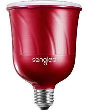 Sengled chytrá LED žárovka PULSE Master s reproduktorem JBL, závit E27, červená