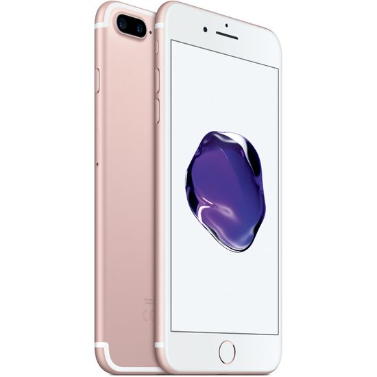 Apple iPhone 7 Plus 128GB, růžový