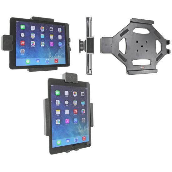 Brodit držák do auta na Apple iPad Air bez pouzdra, bez nabíjení, s pružinovým jištěním