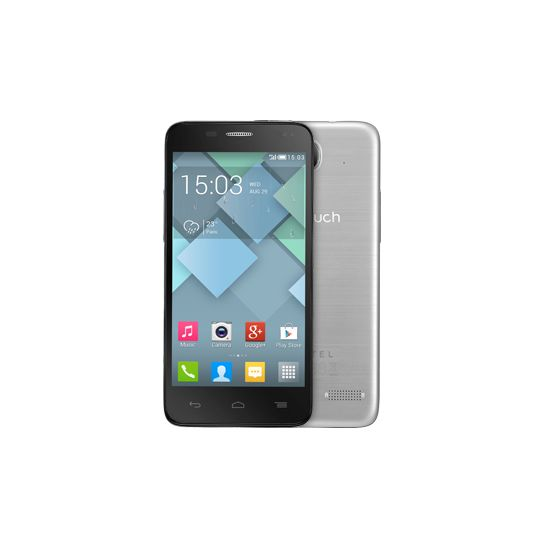 ALCATEL ONE TOUCH 6012D Idol mini stříbrná