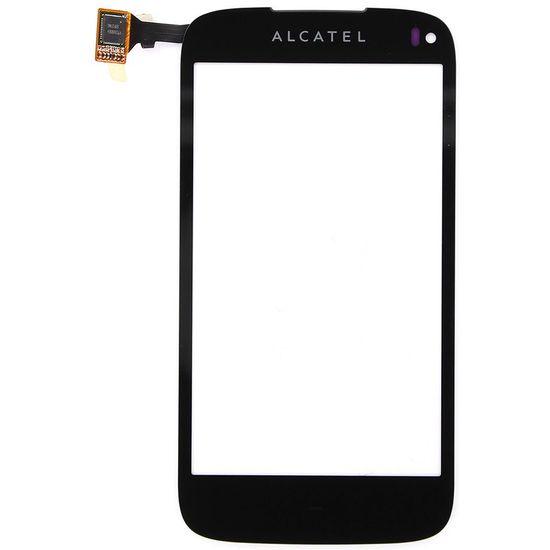 Náhradní díl dotyková deska na Alcatel OT997, černá