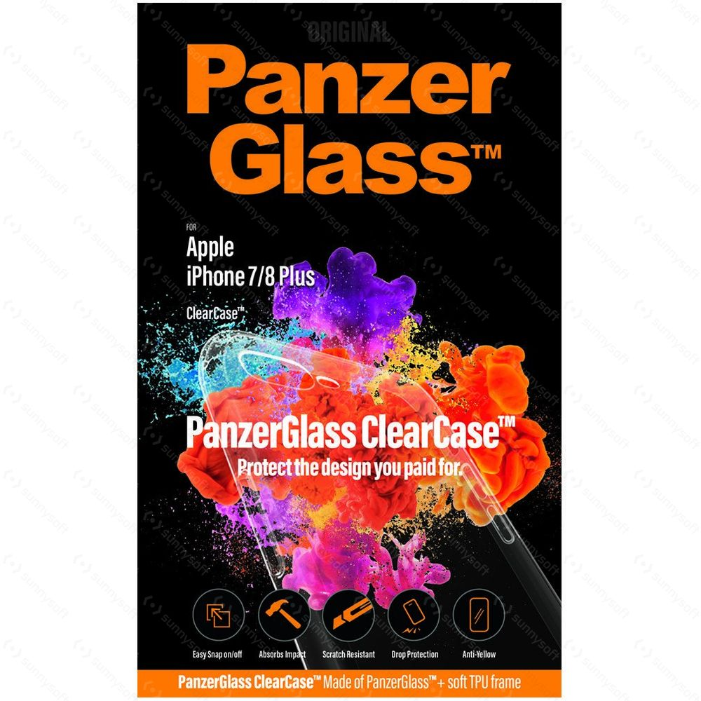 PanzerGlass ClearCase pro Apple iPhone 8 7 Plus  8754994c204