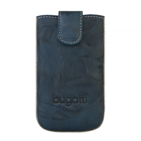 Bugatti Unique Leather case XL - jeans