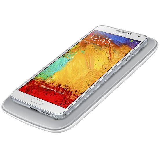 Samsung sada pro bezdrátové nabíjení (podložka + kryt) EP-WN900EW pro Note 3 bílá