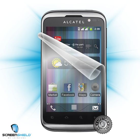 Fólie ScreenShield Alcatel One Touch 991D - displej