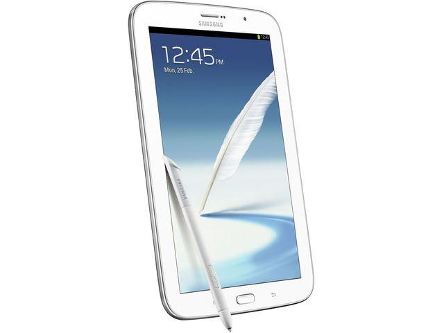 obsah balení Samsung GALAXY Note 8.0 Wi-Fi, bílý + originální polohovací pouzdro Samsung, bílé