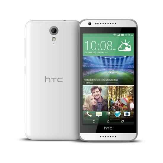 HTC Desire 620 (A31), Single Sim, bílý