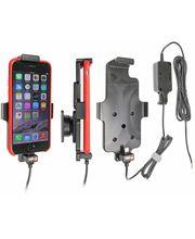 Brodit držák do auta na Apple iPhone 8/7/6s/6 v pouzdru, s pružinou, se skrytým nabíjením