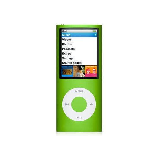 iPod Nano 4th - 8GB (zelená)