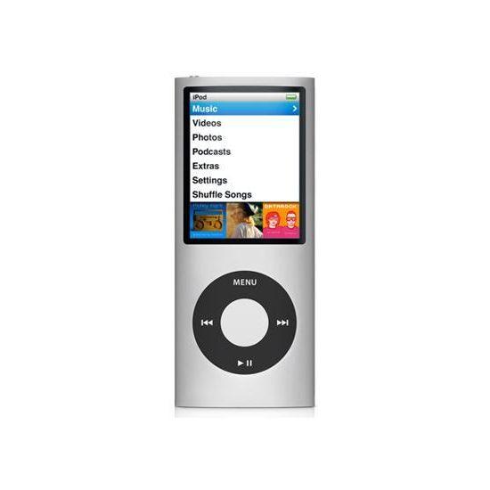 iPod Nano 4th - 16GB (stříbrná)